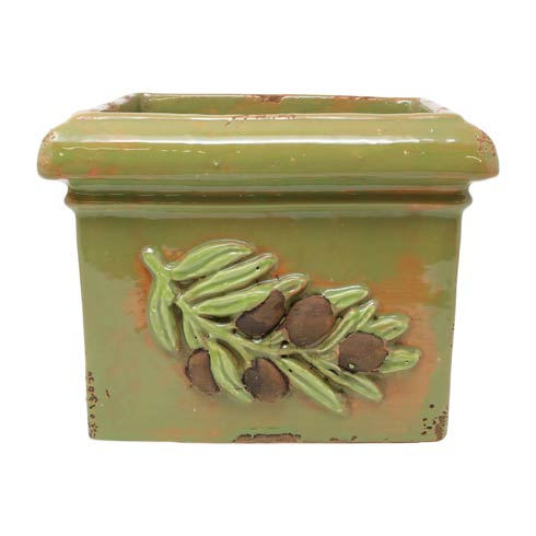 $169.00 Olives Green Square Planter