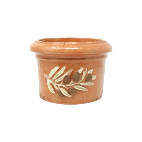 $159.00 Olives Brown Round Planter