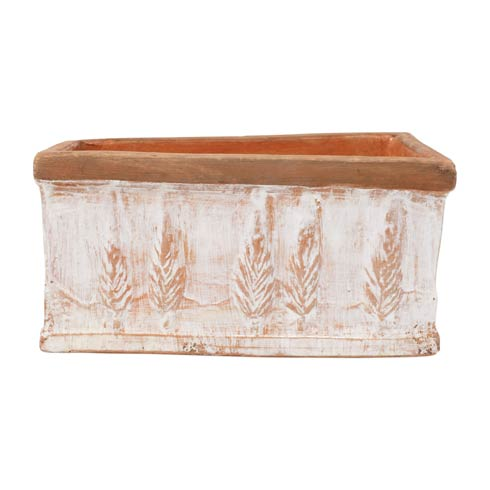 $118.00 Winter Small Rectangular Planter