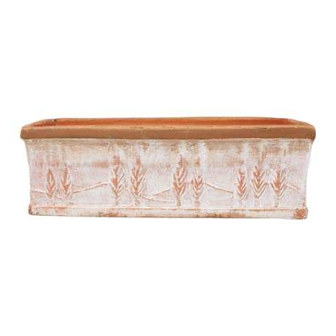 $168.00 Winter Large Rectangular Planter