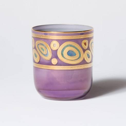 VIETRI  Regalia Purple Double Old Fashioned $67.00