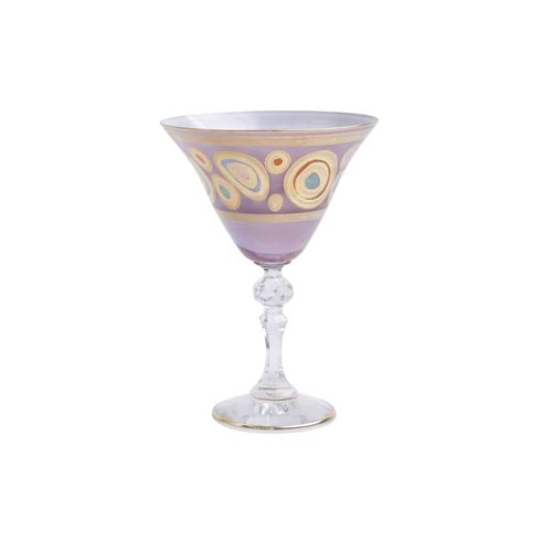 Purple Martini Glass collection with 1 products