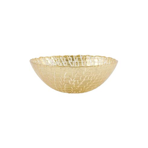 $29.00 Gold Crocodile Small Bowl
