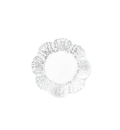 Vietri  Rufolo Glass Platinum Canape Plate $22.00