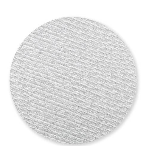 $23.00 Blue/Gray Round Placemat