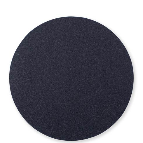 $23.00 Black/Gray Round Placemat