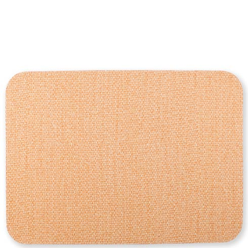 $21.00 Green/Coral Rectangular Placemat