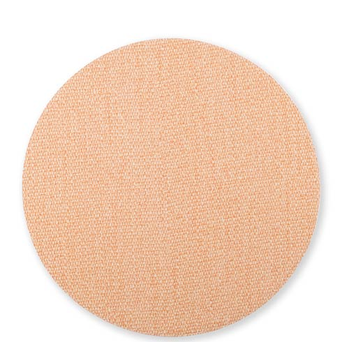 $23.00 Green/Coral Round Placemat