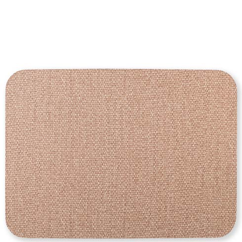 $21.00 Light Gray/Brown Rectangular Placemat