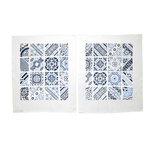 $38.00 Mosaic Dish Towels - Set of 2