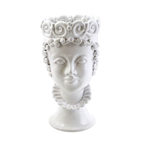 $700.00 White Large Queen Head