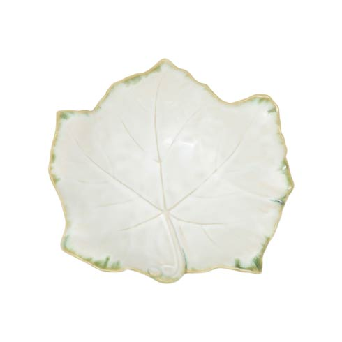 $71.00 Stone White Footed Small Serving Bowl