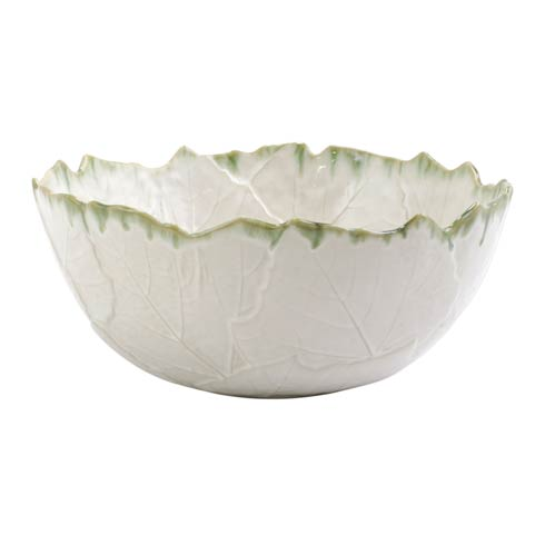 $195.00 Stone White Medium Deep Serving Bowl