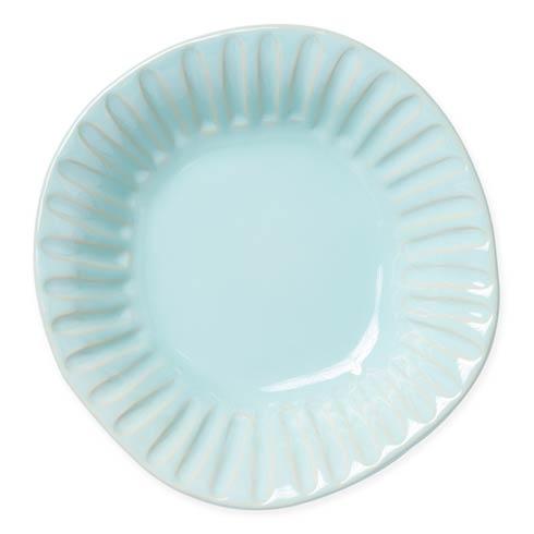 $46.00 Aqua Stripe Pasta Bowl