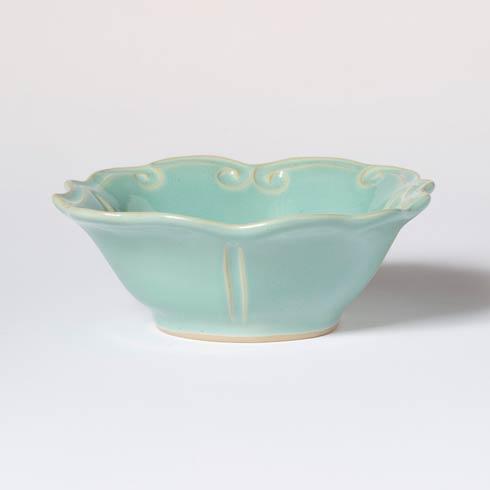 Vietri Incanto Stone Aqua Baroque Cereal Bowl $44.00