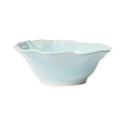 $44.00 Aqua Lace Cereal Bowl