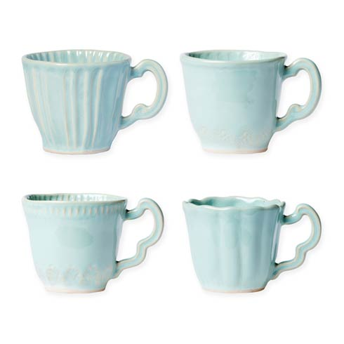 Assorted Mugs - Set of 4
