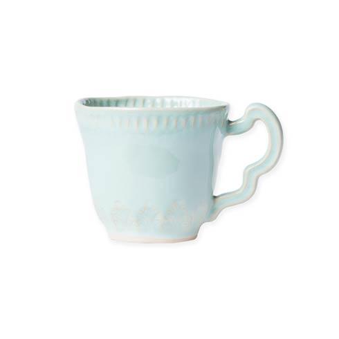 $46.00 Aqua Leaf Mug