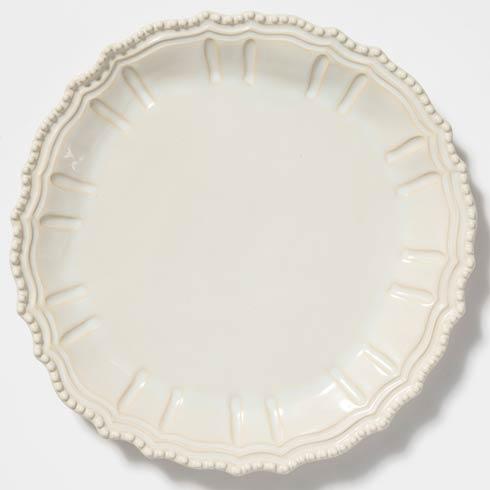 Vietri Incanto Stone Linen Baroque Round Platter $154.00