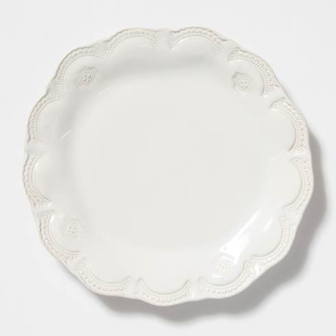Vietri Incanto Stone White Lace Dinner Plate $46.00