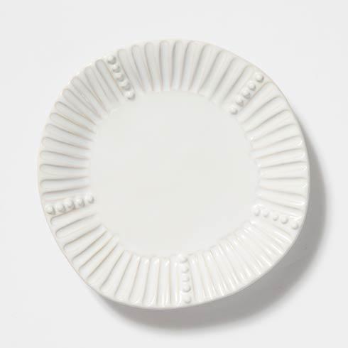 VIETRI Incanto Stone White Stripe Salad Plate $44.00