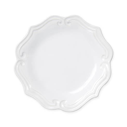 Vietri Incanto Stone White White Baroque Salad Plate $44.00