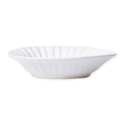 Vietri Incanto Stone White White Stripe Pasta Bowl $46.00