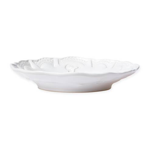Vietri Incanto Stone White White Lace Pasta Bowl $46.00