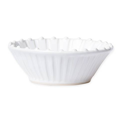 Vietri Incanto Stone White Stripe Cereal Bowl $44.00