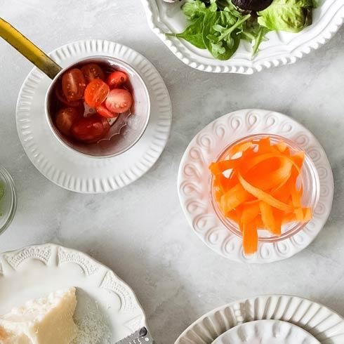 $117.00 Assorted Canape Plates - Set of 4