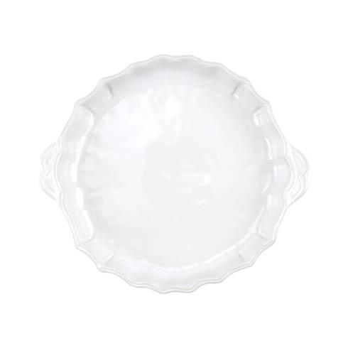 VIETRI Incanto Stone White Baroque Pie Dish $133.00