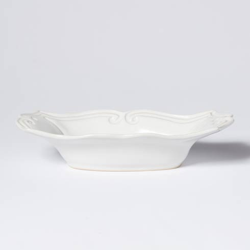 Vietri Incanto Stone White Baroque Medium Au Gratin $98.00
