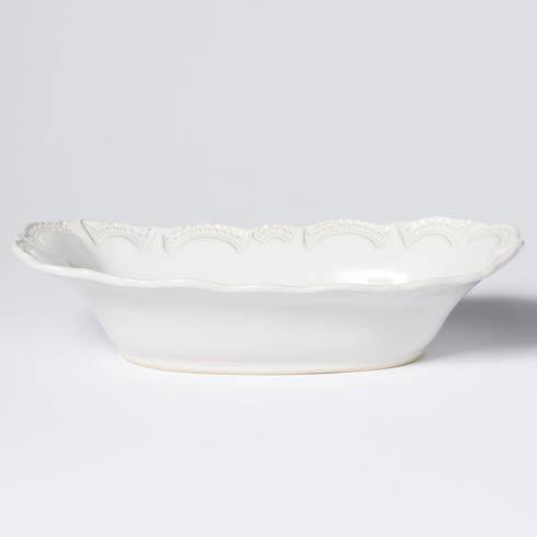 Vietri Incanto Stone White Lace Large Au Gratin $118.00