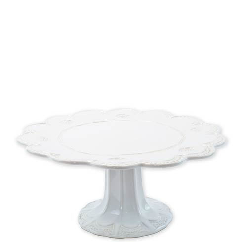 VIETRI Incanto Stone White Lace Large Cake Stand $241.00