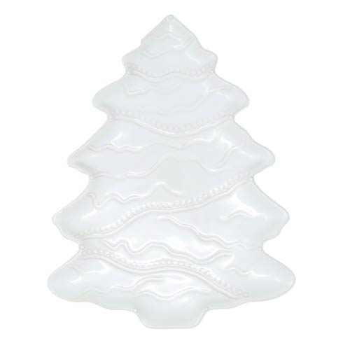 $180.00 Winterland White Tree Platter