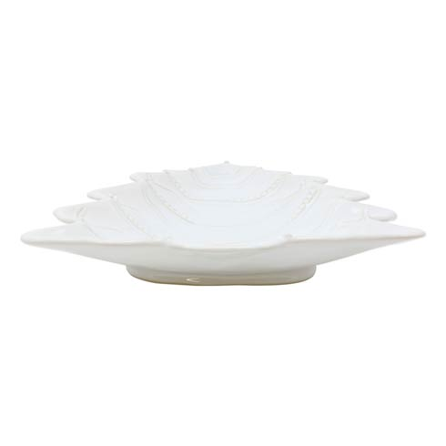 Vietri  Incanto Stone Winterland White Tree Large Serving Bowl $195.00