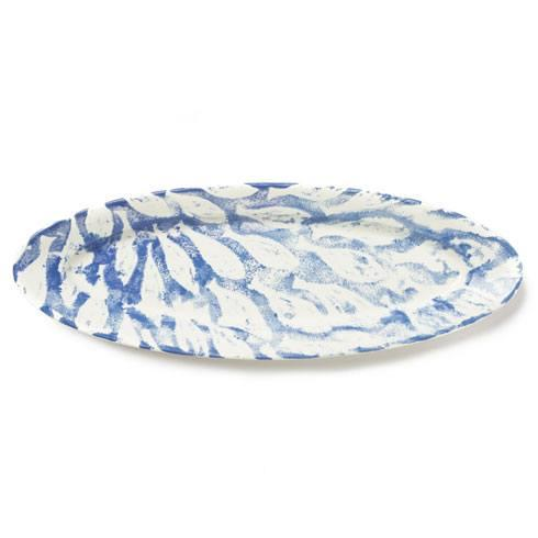Vietri  School of Fish Narrow Oval Platter $128.00