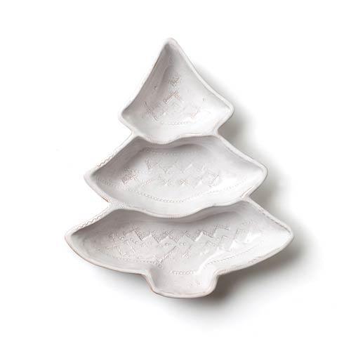 Vietri Bellezza Holiday Tree Three Part Server $105.00