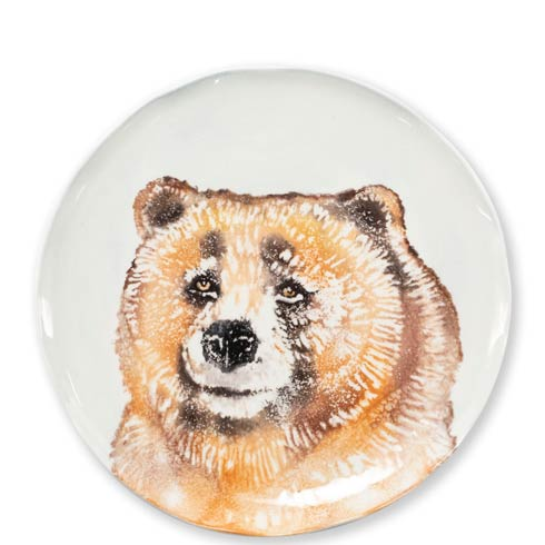 $44.00 Into the Woods Bear Salad Plate