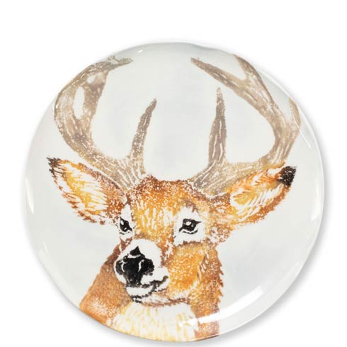 $44.00 Into the Woods Deer Salad Plate