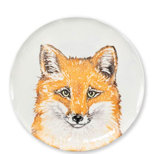 VIETRI  Into the Woods Fox Salad Plate $44.00