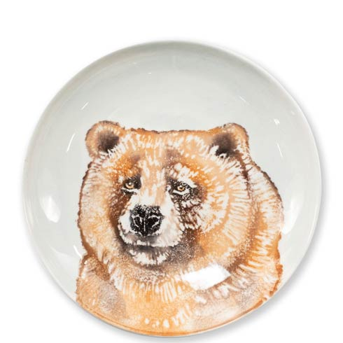 $44.00 Into the Woods Bear Pasta Bowl