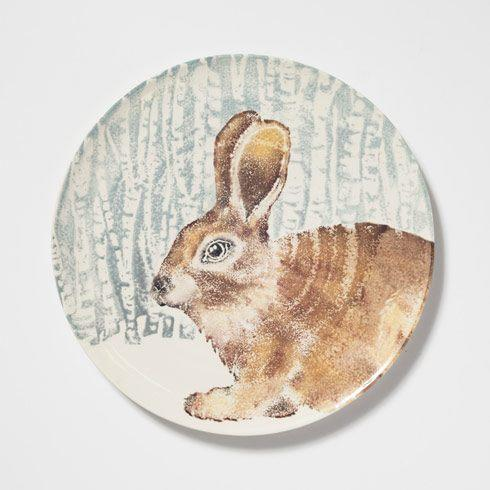 $168.00 Into The Woods Hare Round Platter