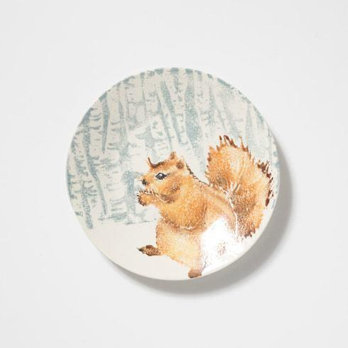 Squirrel Small Round Platter