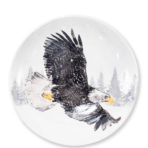 $192.00 Into the Woods Eagle Large Bowl