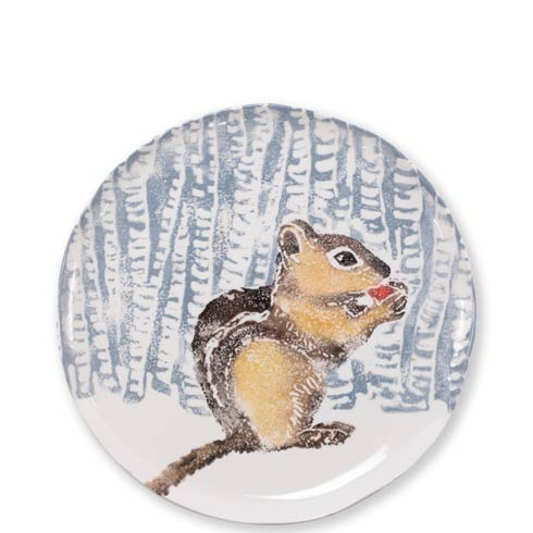 $126.00 Into the Woods Chipmunk Small Platter