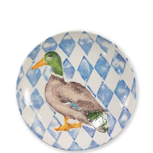 $169.00 Into the Woods Mallard Medium Bowl