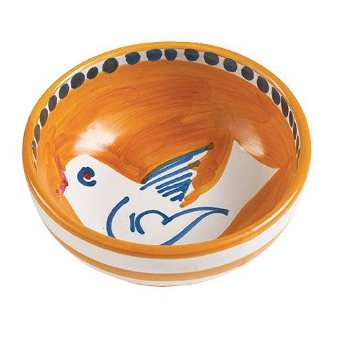 Vietri Campagna Uccello (Bird) Olive Oil Bowl $30.00