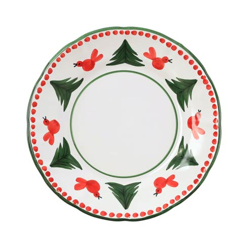 $42.00 Uccello Rosso Dinner Plate