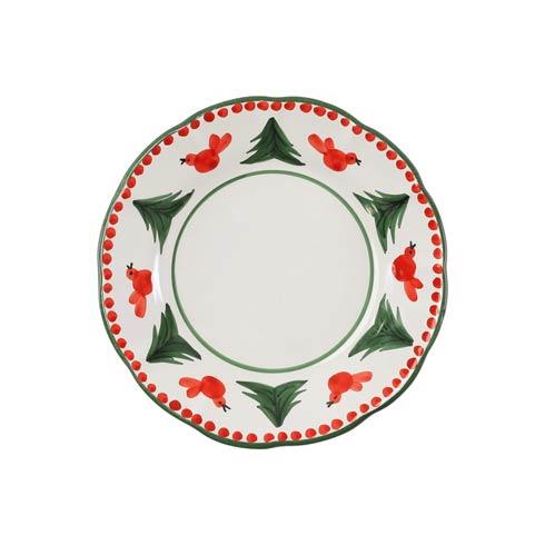 VIETRI  Uccello Rosso Salad Plate $38.00